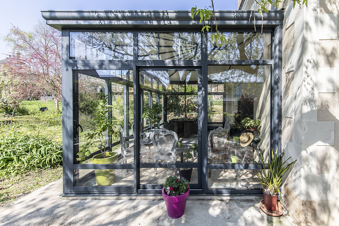 Véranda jardin d\'hiver - Aménager un jardin d\'hiver dans sa ...