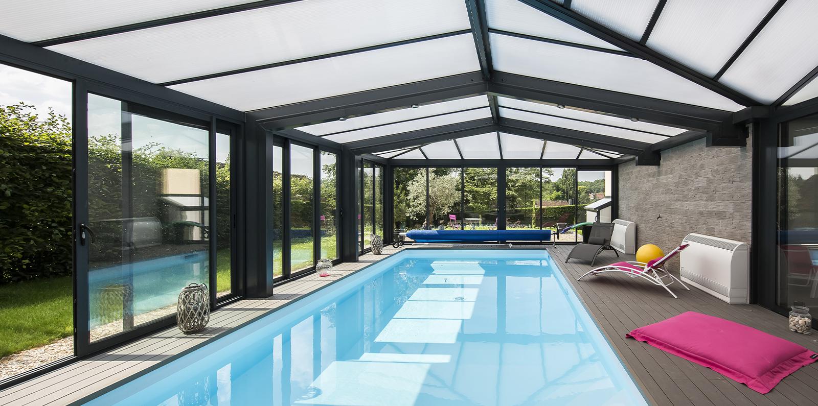 Extension Maison Piscine Couverte couverture de piscine - véranda pour piscine - soko